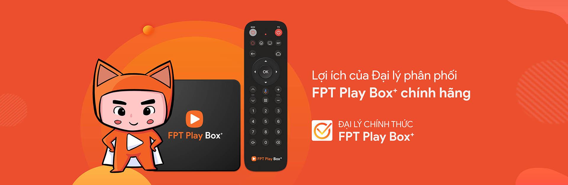 Tìm đại lý phân phối FPT PLAY BOX 2019 tại Vũng Tàu